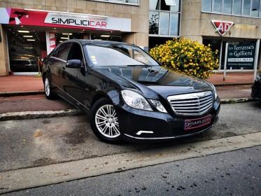Mercedes classe e 350 cdi avantgarde executive a occasion saint-germain-en-laye (78)  simplicicar simplicibike france