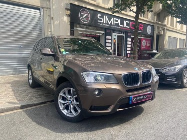 Bmw x3 f25 xdrive20d 184ch luxe steptronic a occasion courbevoie (92) simplicicar simplicibike france